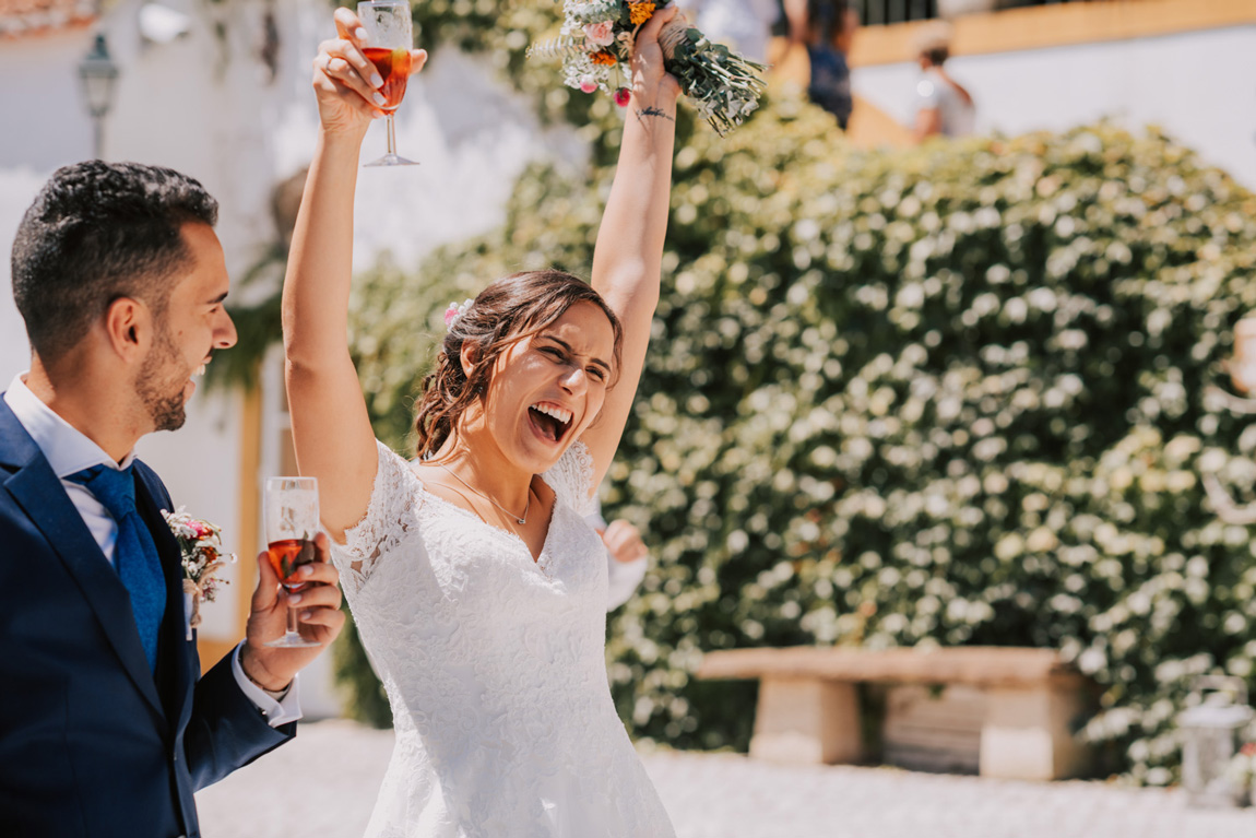 Portugal Destination Wedding Photographers and Videographers at Quinta de Monfalim